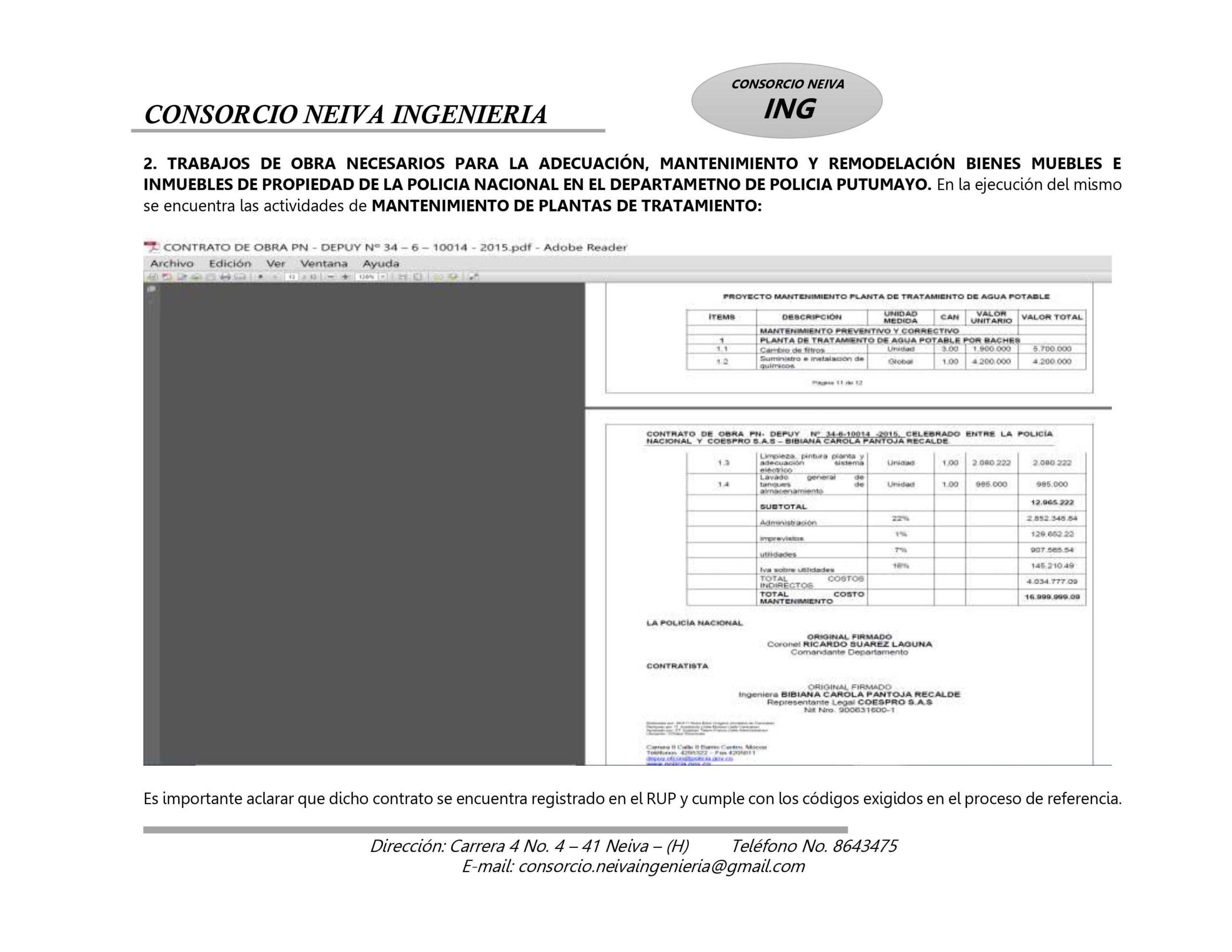 ¿Policía en el Tolima estaría favoreciendo a Contratista? 11