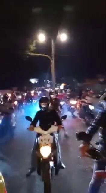 Motociclistas se burlaron de la autoridad de Ibagué, salieron en caravana por varias calles de la ciudad 6