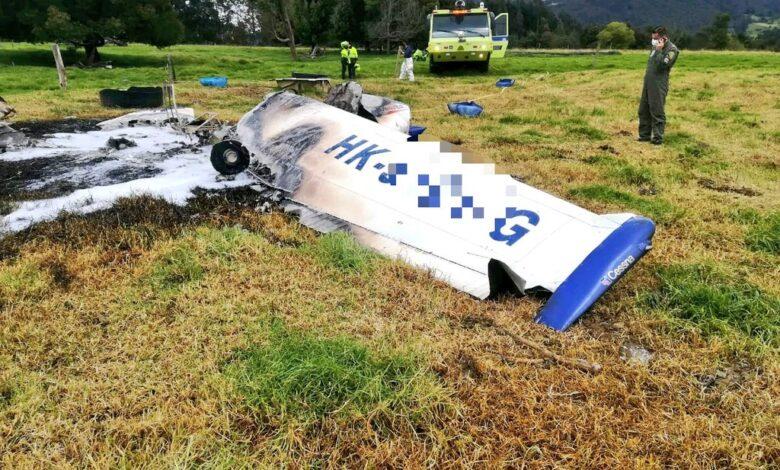 Aeronáutica Civil reportó nuevo accidente aéreo en cercanías del aeropuerto de Guaymaral 1