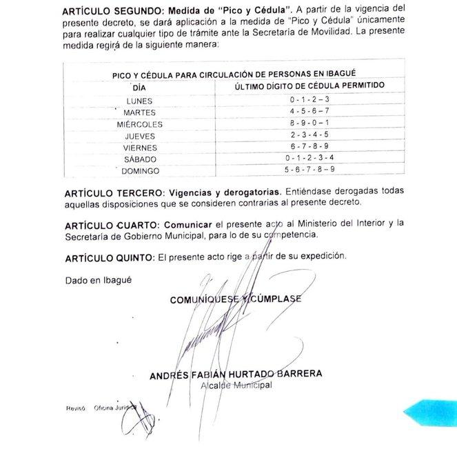 No más Pico y Cédula en Ibagué 4