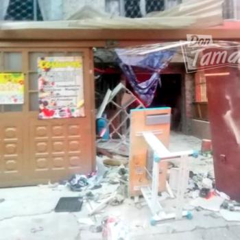 Fuerte explosión en un depósito de gas en Bogotá dejó nueve heridos 4