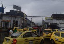 Photo of A esta hora taxistas de Ibagué bloquean algunos sectores de la ciudad
