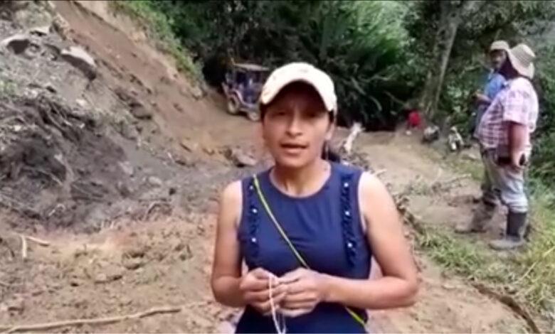 Por abandono de la Alcaldía, habitantes de Chaparral tuvieron que arreglar vías rurales 1