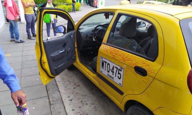 En extrañas circunstancias resultó apuñalado un conductor de taxi en Ibagué 5