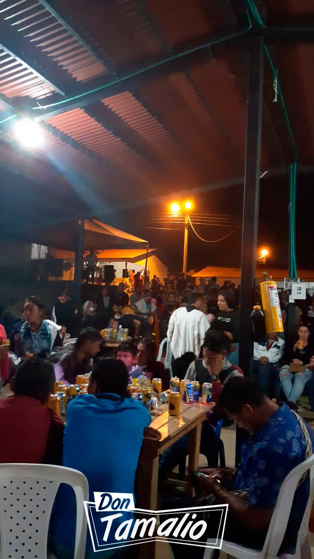 En plena pandemia armaron 'rumba' en el municipio de Planadas 3