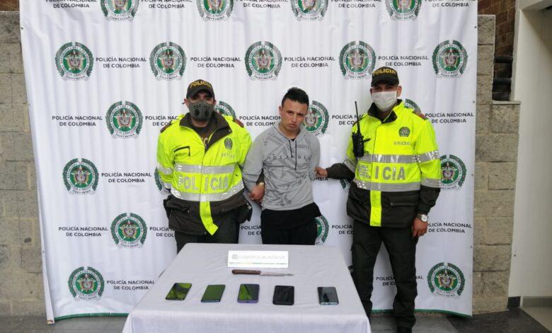 Capturan a hombre que atracó un bus del SITP en Bogotá 1