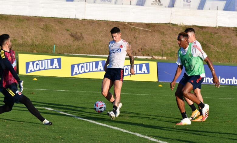 Posibles agresiónes en el camerino de la selección Colombia 1