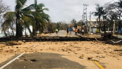 El paso del Huracán lota, dejó estragos en las Islas Colombianas y desencadenó lluvias en el centro del país 7
