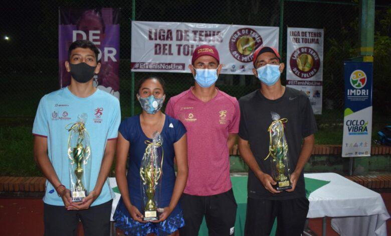 Ibagué fue sede del campeonato nacional de tenis categorias menores 1