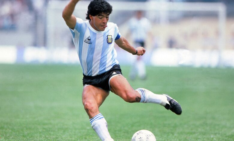 Atención falleció Diego Armando Maradona 1