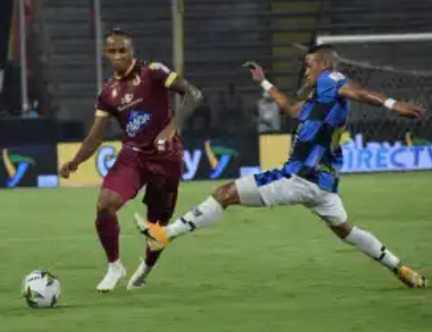 Deportes Tolima venció 2 a 0 al Chicó y recuperó el liderato de la Liga. 1