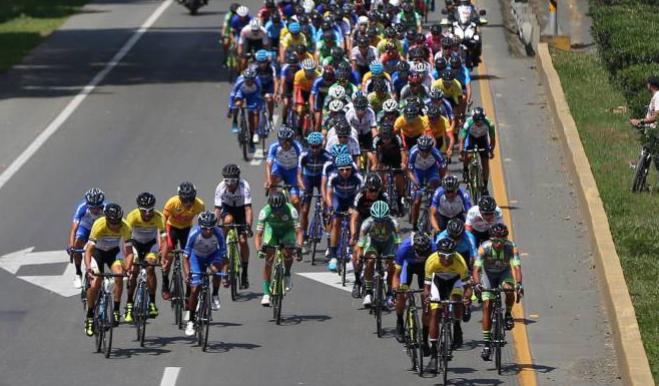 Se cumplió la cuarta etapa de la vuelta a Colombia en Ibagué 1