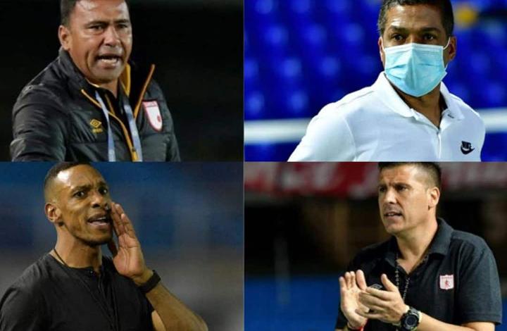 Cuatro Técnicos que buscan ser Campeones por primera vez de la Liga Betplay 1