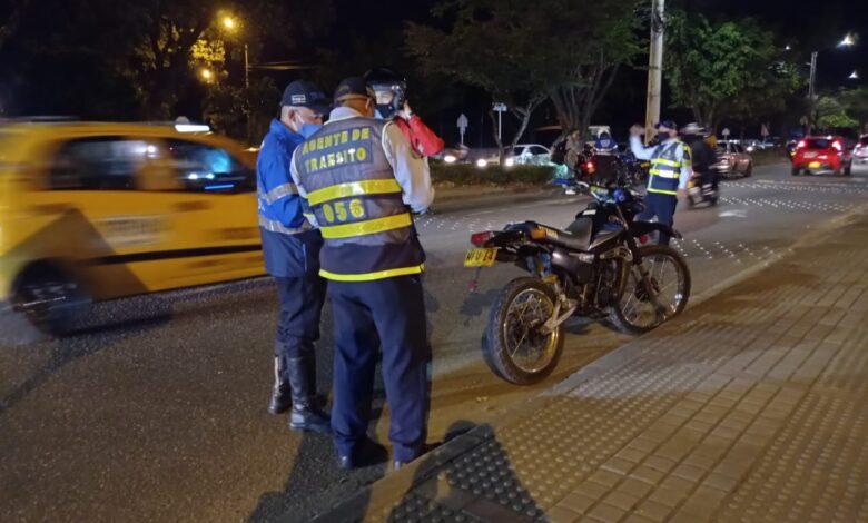 Más de 200 comparendos y 143 vehículos inmovilizados en Ibagué durante fin de semana 1