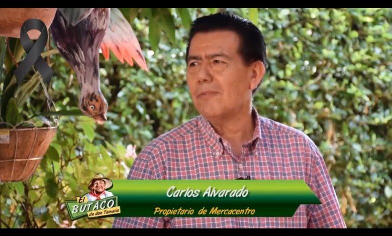 Homenaje al empresario Carlos Alvarado 3