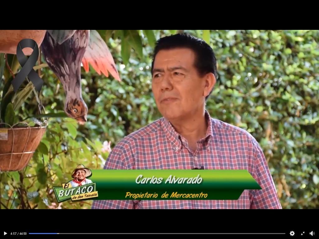 Homenaje al empresario Carlos Alvarado 4