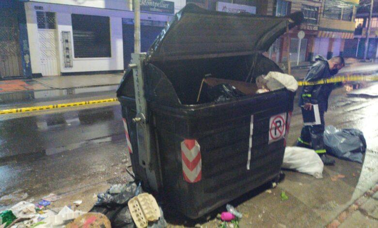 Reciclador encontró cuerpo de un bebé al interior de un contenedor de basura en Bogotá 3