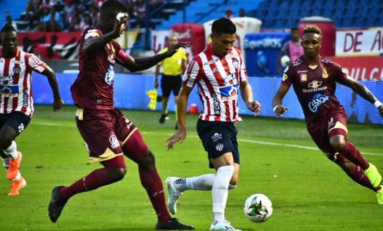 Podría el Deportes Tolima ganar ante Junior por W ? 1