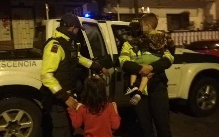 Niños de 4 y 2 años fueron rescatados por un habitante de calle en el barrio Uribe de Ibagué 1