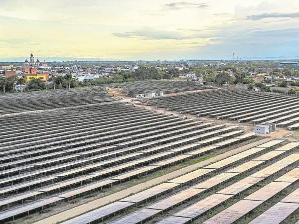 Primera planta solar en el Tolima esta en el Espinal 1
