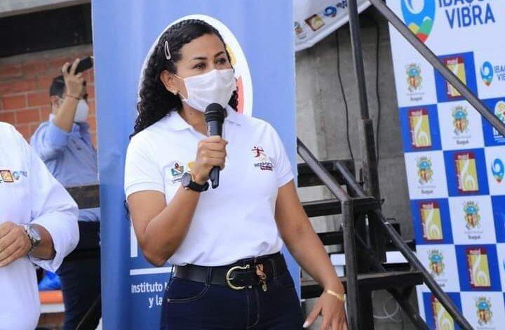 Sandra Varón deja la dirección de Indeportes Tolima. 1