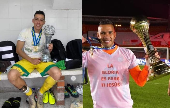 Dos tolimenses campeones en el fútbol colombiano del 2020. 1