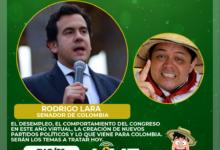 El Senador Rodrigo Lara en Don Tamalio en Vivo 16