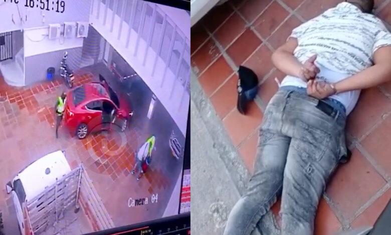 Un expolicía hacía parte de banda de 5 atracadores en Barranquilla 1