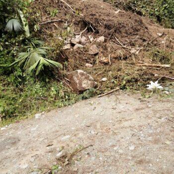 Deslizamientos de tierra tiene incomunicados a los habitantes de Bilbao, Planadas 8