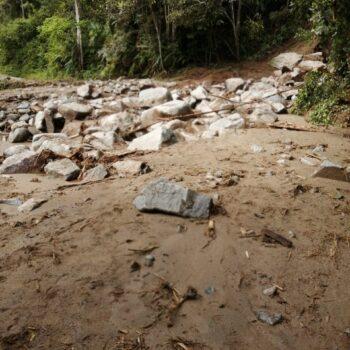 Deslizamientos de tierra tiene incomunicados a los habitantes de Bilbao, Planadas 6