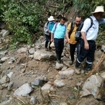 Deslizamientos de tierra tiene incomunicados a los habitantes de Bilbao, Planadas 7