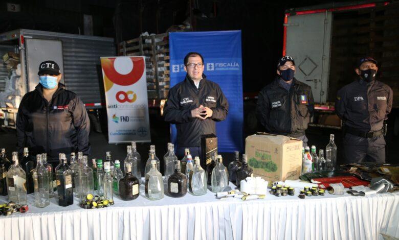 Licor adulterado, incautado en Bogotá, iba a ser distribuido en Ibagué y otras ciudades del país 1