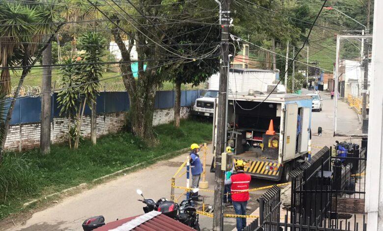 Daño en la Coqueta afectó suministro de agua en Ibagué, el IBAL atiende la emergencia 5