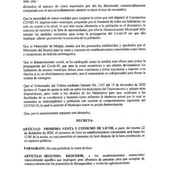 A pesar de la alerta roja hospitalaria en el Tolima, Melgar no tendrá toque de queda 2