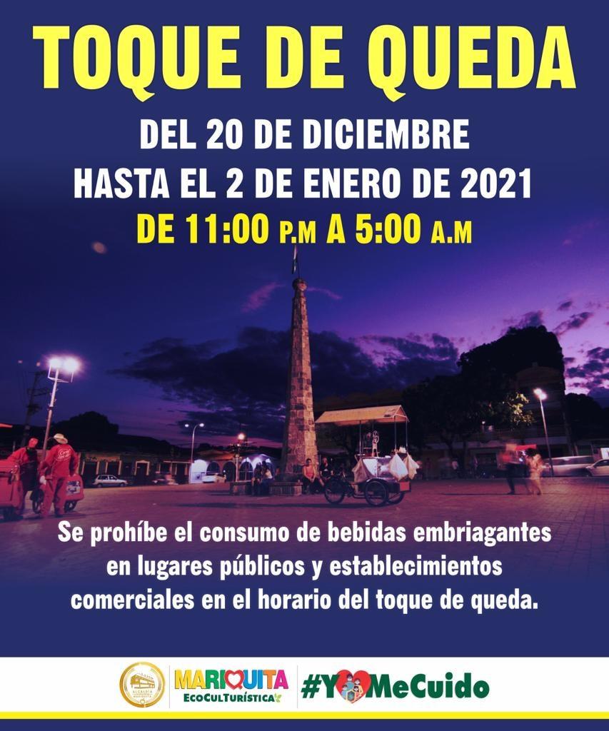 Estos municipios ya adoptaron medidas para fin de año en el Tolima 10