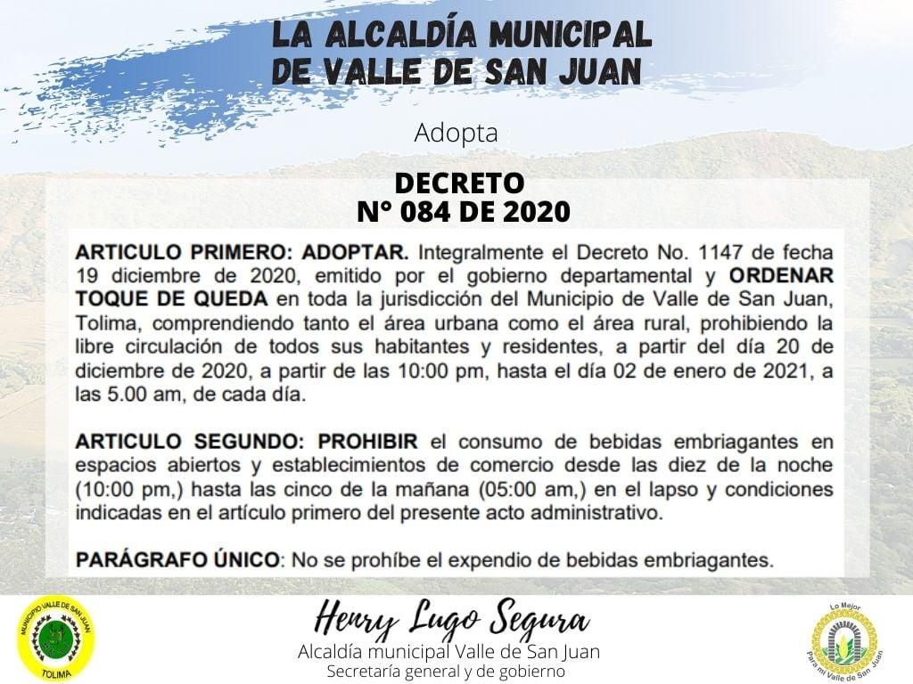 Estos municipios ya adoptaron medidas para fin de año en el Tolima 15