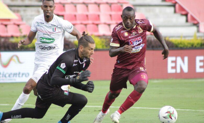 Deportes Tolima debutó en liga con empate en Ibagué 1