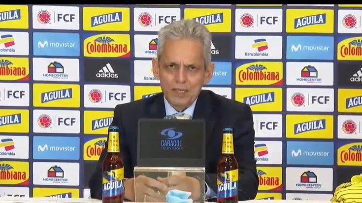 Reinaldo Rueda ofreció su primera conferencia de prensa como DT de la Selección Colombia. 1
