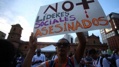 En Colombia, durante el mes de enero han sido asesinados 14 líderes sociales 5