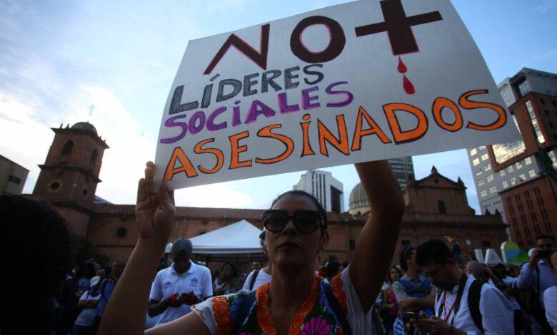 En Colombia, durante el mes de enero han sido asesinados 14 líderes sociales 3