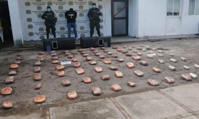 Policía del Tolima incautó más de 150 kilos de base de coca 1