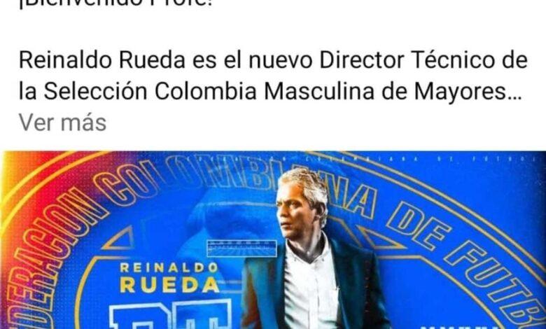 Oficialmente Reinaldo Rueda es el nuevo técnico de la Selección Colombia. 1