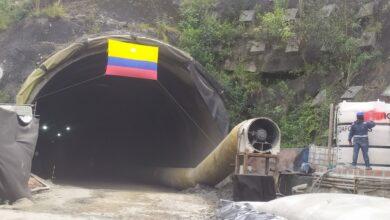 Gobierno Nacional realizó la última excavación  de uno de los túneles del proyecto cordillera central 6