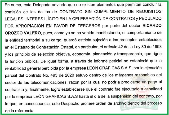 Orozco se libra de proceso judicial por contrato con León Gráficas 6