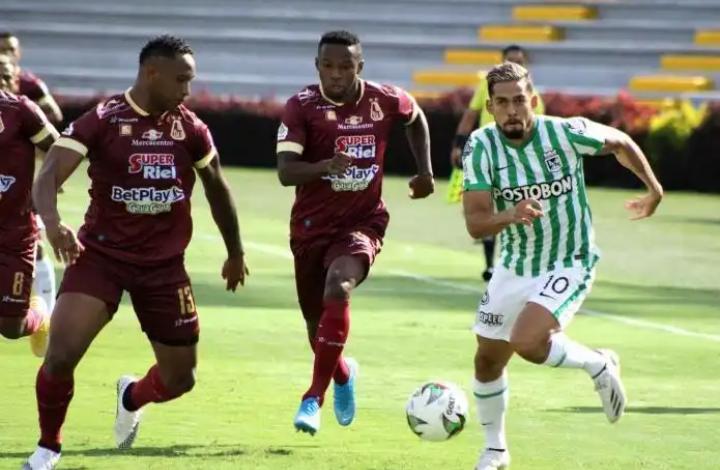 Deportes Tolima volvió a ganarle a Nacional y lo eliminó de la Copa Betplay. 1