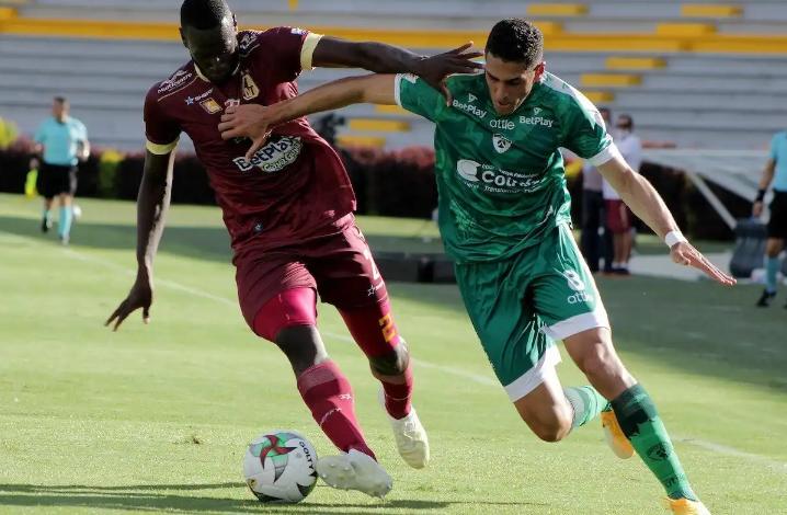 Deportes Tolima consiguió su primera victoria en la Liga Betplay. 1