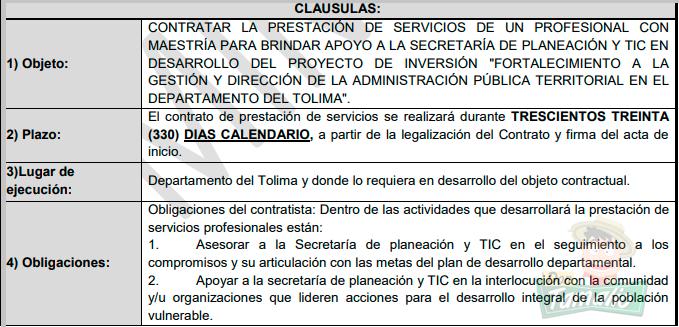El millonario contrato que Orozco le dio a la exgerente de Indeportes 9