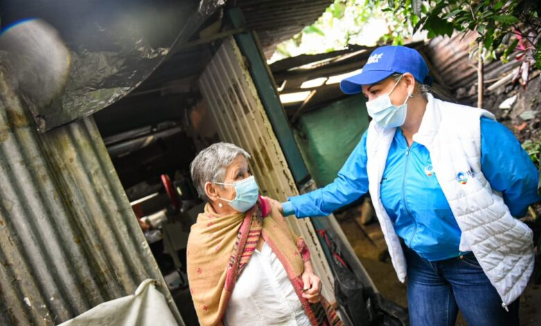 Este es el parte médico de los heridos por deslizamientos en el barrio Baltazar 1