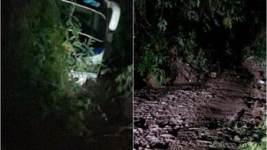 Municipio de Dolores incomunicado por deslizamiento de tierra 4