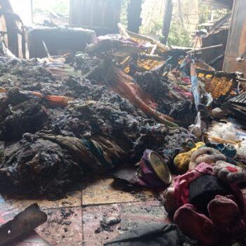Tres familias lo perdieron todo tras incendio en un barrio de Neiva 4